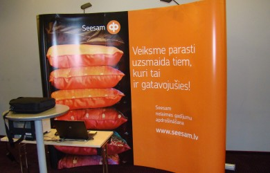 Seesam Latija Pop Up 3x3 Hotel Latvija